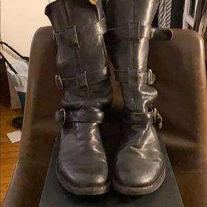 Fiorentini & Baker Eternity Black Leather Boots